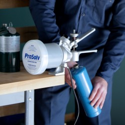 Propane Cylinder Recycling And Disposal Using Prosolv